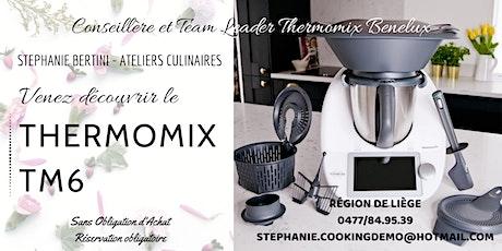 Venez découvrir le Thermomix TM6 - Liège billets