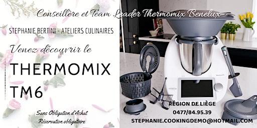 Venez découvrir le Thermomix TM6 - Liège