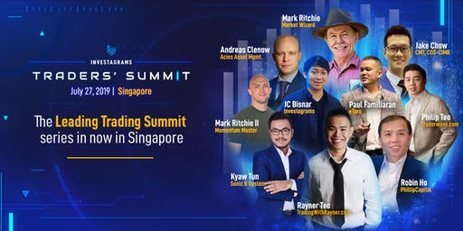 Investagrams Traders' Summit Singapore