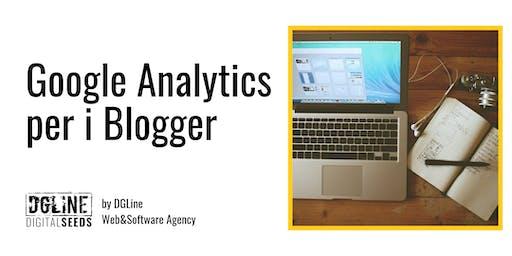 Google Analytics per i Blogger