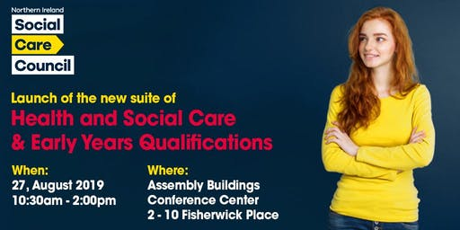 Launch: New suite of Health and Social Care & Early Years Qualifications