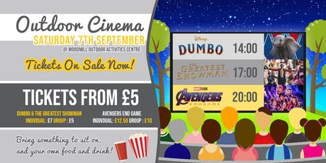 Woodmill Open Air Cinema tickets