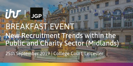 New Recruitment Trends within the Public and Charity Sector (Midlands) tickets