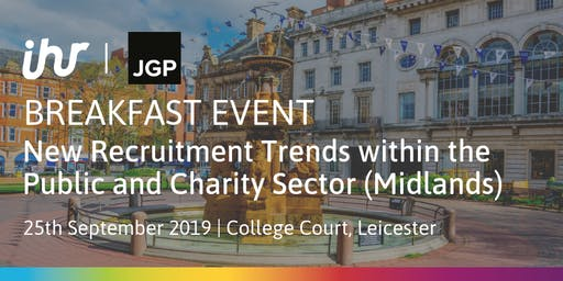 New Recruitment Trends within the Public and Charity Sector (Midlands)