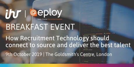 How Recruitment Technology Should Connect to Source and Deliver the Best Talent tickets