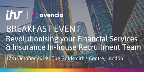 Revolutionising your Financial Services & Insurance In-house Recruitment Team tickets