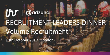 Recruitment Leaders Dinner: Volume Recruitment tickets