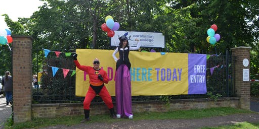 Community Fun Day at Carshalton College and Merton College