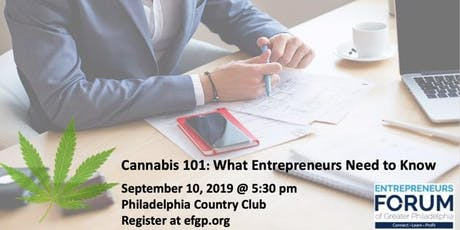 EFGP Member Registration: Cannabis 101: What Entrepreneurs Need to Know tickets