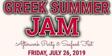 "NRWP ALUMNI Presents ""GREEK SUMMER JAM""   tickets"