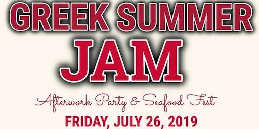 "NRWP ALUMNI Presents ""GREEK SUMMER JAM"""