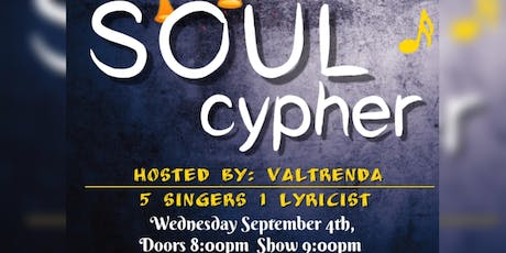 """Create N'Chill  presents """"Soul Cypher"""" tickets"""