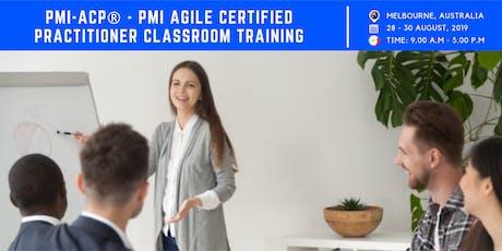 PMI ACP Training | Exam | Melbourne | August | 2019 tickets