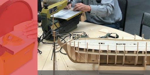 Cardiff Store - Model Boat Building With John Gittins