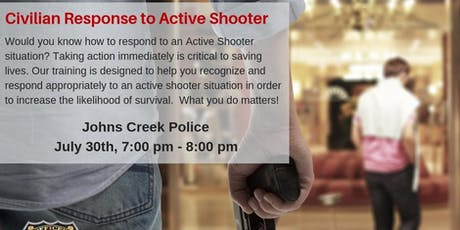 Civilian Response to Active Shooter Events - CRASE tickets