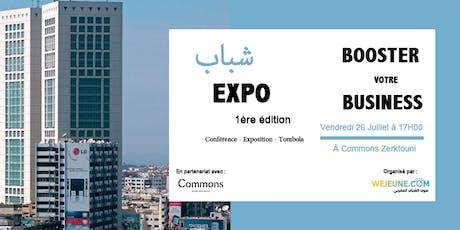 شباب Expo : Booster votre visibilité avec Wejeune billets