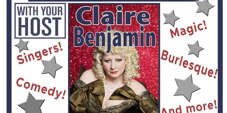 TIME TRAVELLERS CABARET CLUB with Claire Benjamin! tickets