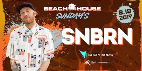 SNBRN at Beach House Sundays tickets