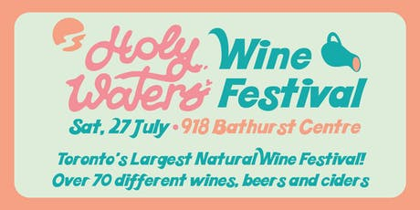 Holy Waters Wine Festival tickets