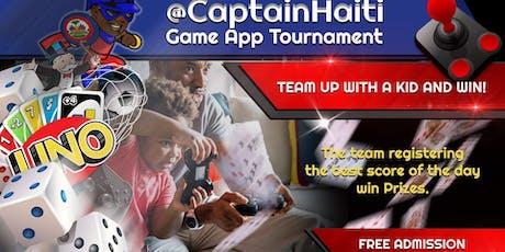 Captain Haiti's Game App Tournament #1 tickets