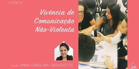 Vivência de Comunicação Não-Violenta ingressos
