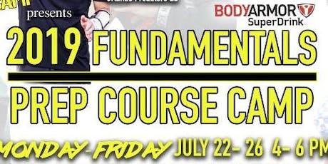 2019 Fundamentals Prep Course Camp tickets