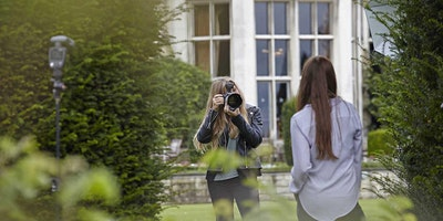 Logo for event Create beautiful light with Hannah Couzens and Profoto - Ashridge House