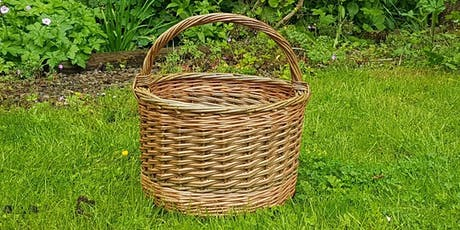 Weave a round willow basket tickets