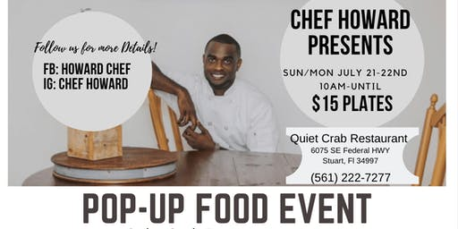 Chef Howard Presents: Pop Up Food Event