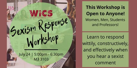 Sexism Response Workshop tickets