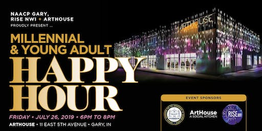 Millennial & Young Adult Happy Hour