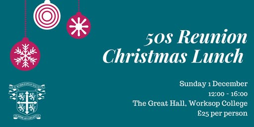 50s Reunion Christmas Lunch