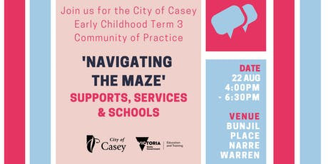 City of Casey Term Three Early Childhood Community of Practice tickets