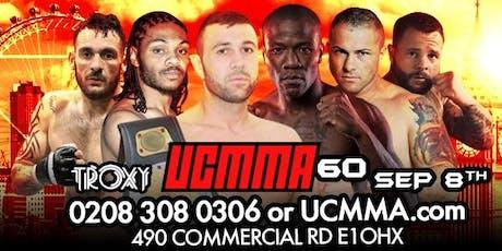 UCMMA 60 SUN SEP 8TH  tickets
