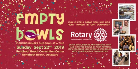 Empty Bowls Sussex County tickets