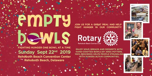 Empty Bowls Sussex County