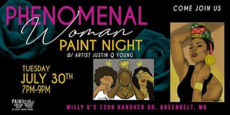 Phenomenal Woman Paint Night tickets
