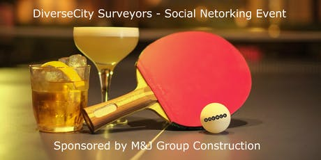 DiverseCity Surveyors - Networking Social - Table Tennis  tickets