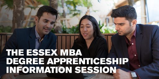 The Essex MBA Degree Apprenticeship information session