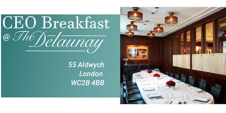 CEO Breakfast tickets