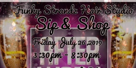 After Work Sip & Shop Happy Hour tickets