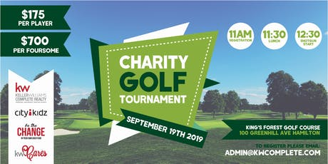 2019 KW Complete Charity Golf Tournament tickets