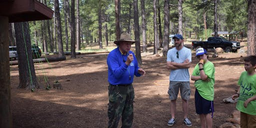 Wapiti Weekend Youth Camp with Elks Society