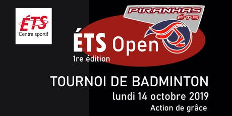 ÉTS Open 2019 tickets