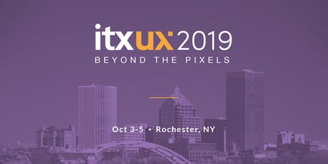 ITX UX 2019: Beyond the Pixels  tickets
