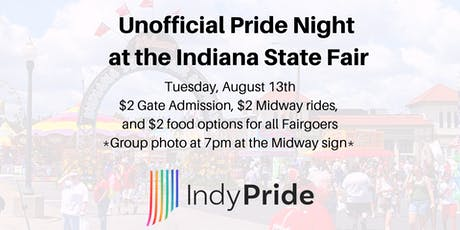 Unofficial Pride Night at the Indiana State Fair tickets