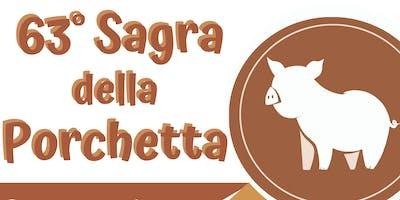 63° Sagra della Porchetta - Selci - Degustazione Porchetta e vini