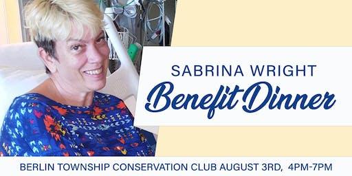 Sabrina Wright - Benefit Dinner
