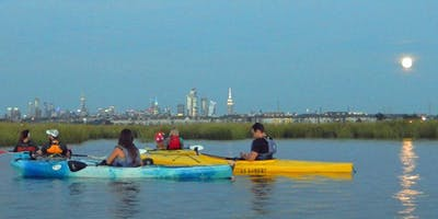 Hackensack Riverkeeper's Moonlight Paddles 10/13/2019 (Full Moon)