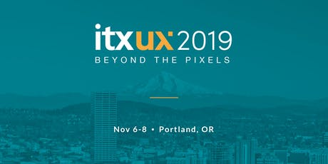 ITXUX2019: Beyond the Pixels tickets